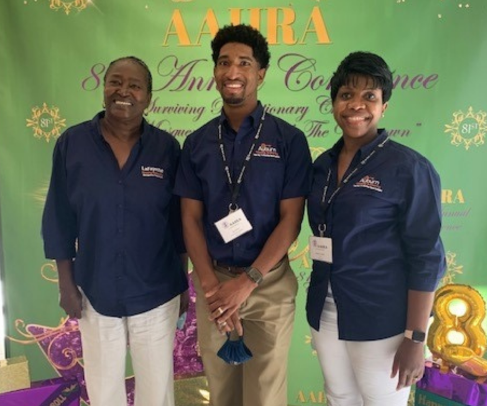 AAHRA Conference 2 staff