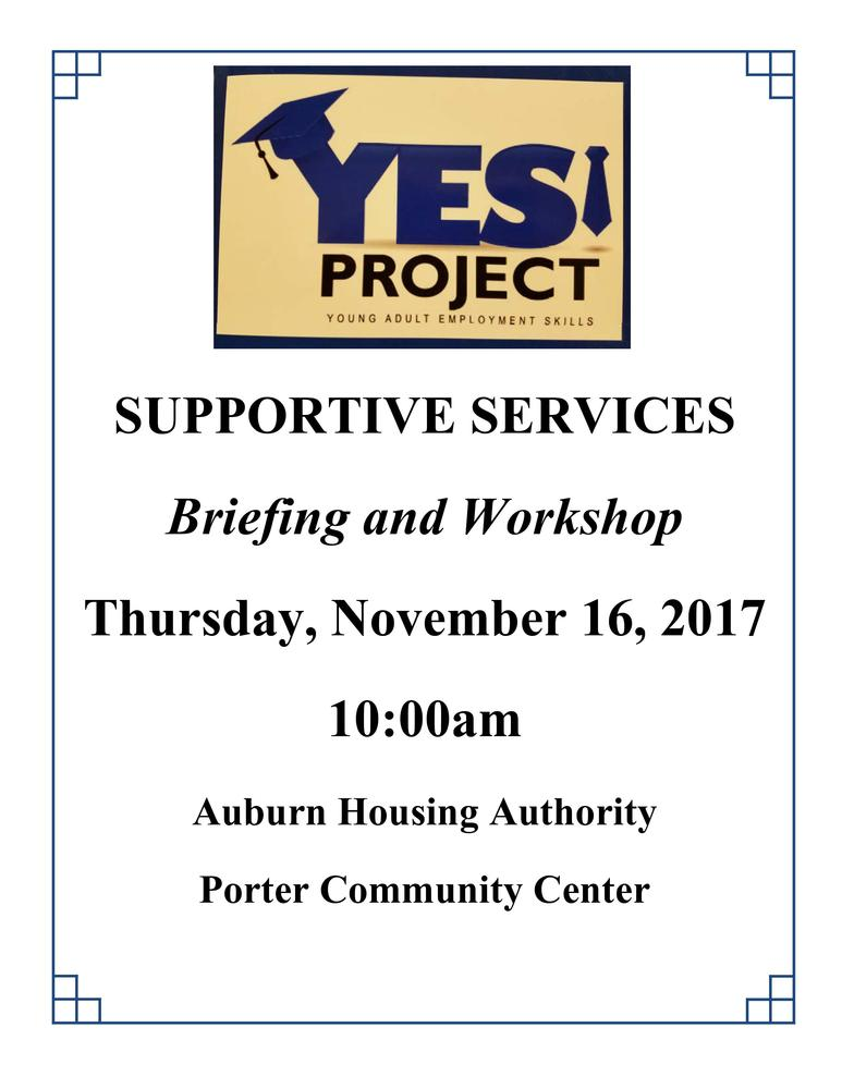 11-16-17 Workshop - YES Project