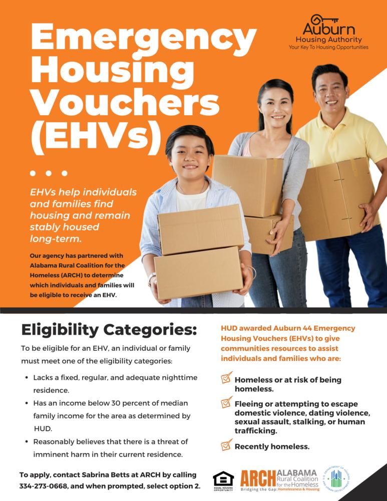 AHA EHVs Flyer