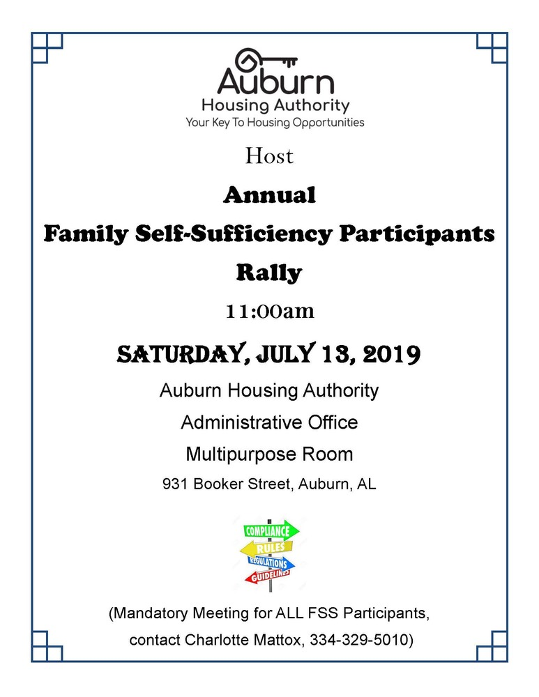 7.13.19 FSS Rally flyer
