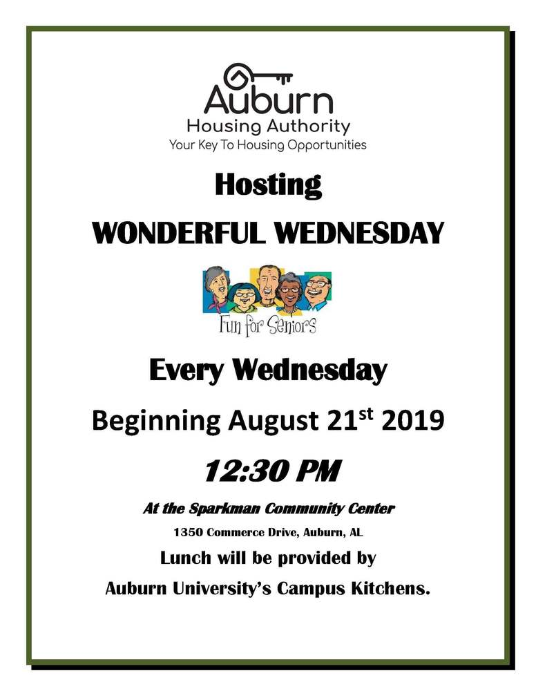 WONDERFUL WEDNESDAY FLYER2019