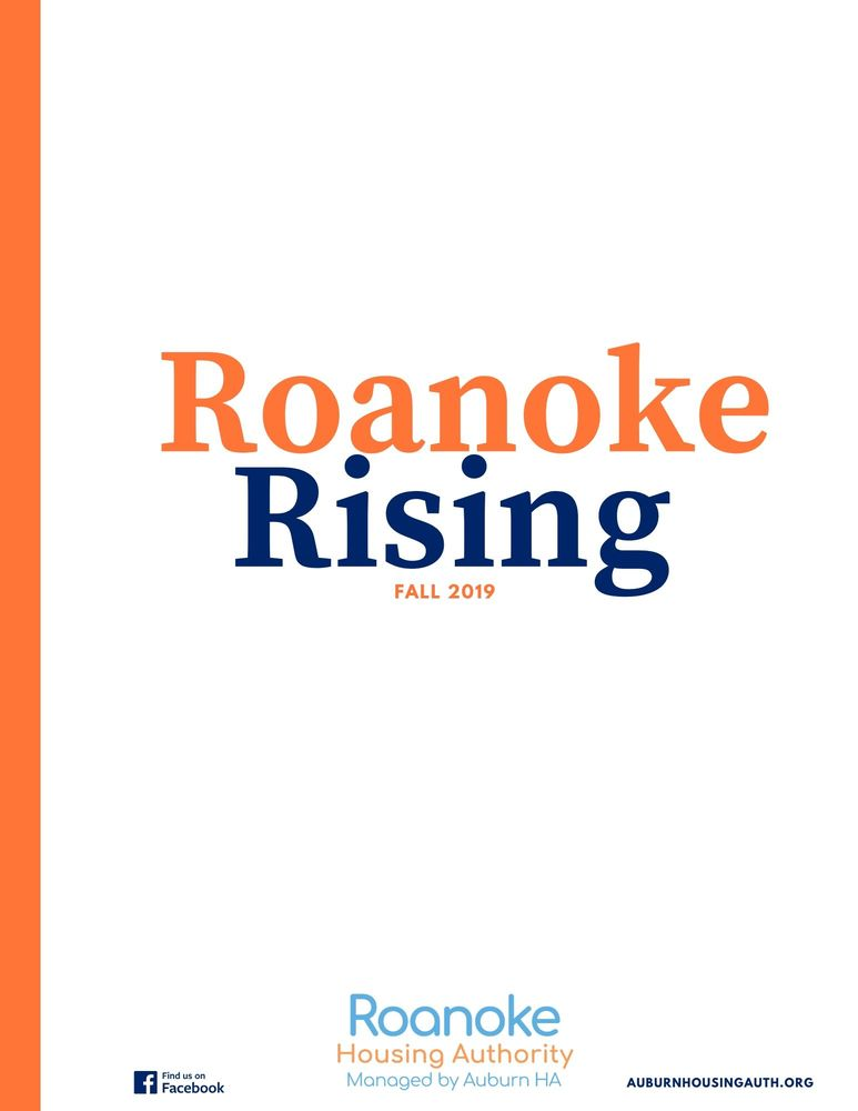 roanoke rising newsletter front page