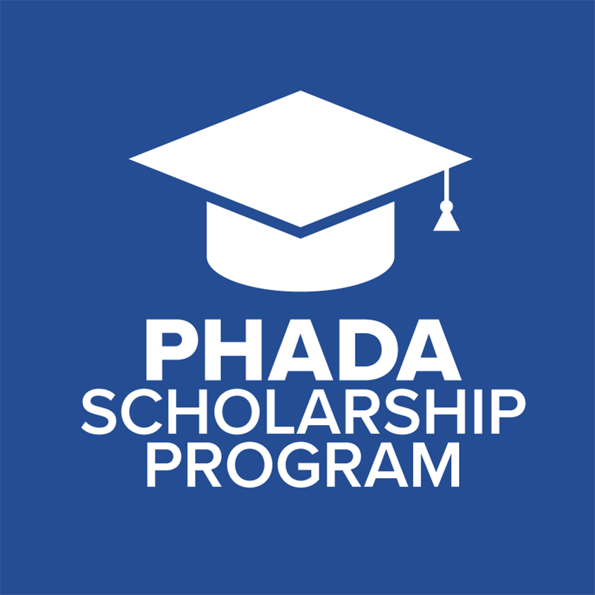 PHADA Scholarship Program Logo