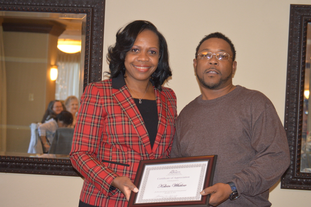 Kelvin Whitlow 5 years of service recognition in LHA newsletter