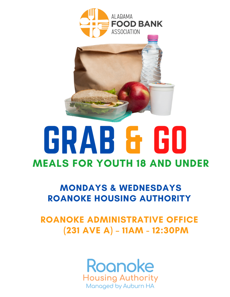 RHA Grab and Go Lunch Schedule