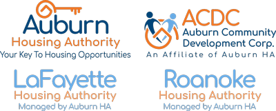 Auburn, LaFayette & Roanoke Housing Authority Tablet Logos